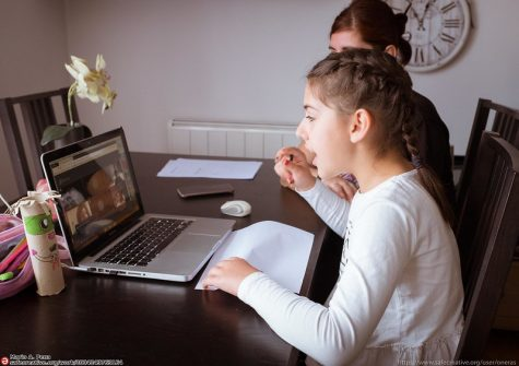 More students are choosing to learn from home.